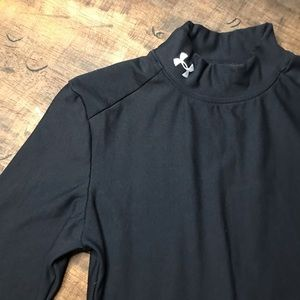 Black Under Armour Longsleeve Compression Thermal